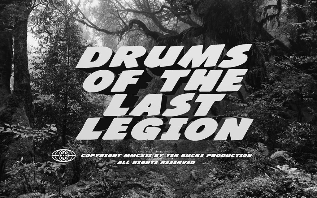 Drums title N&B 02